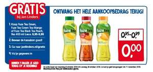 Jan Linders: Gratis Fuze Tea