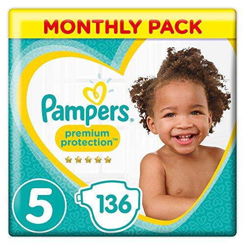 Maandbox Pampers premium protection mt3/4/5 en Baby dry Pants voor 25-29 euro @ amazon.co.uk (Prime only)