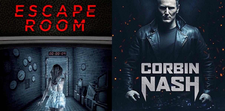 Escape Room en Corbin Nash van 5 t/m 18 oktober gratis in de videoshop @ T-Mobile Thuis