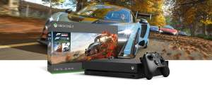 Xbox One X 1TB + Forza Horizon 4 + Forza Motorsport 7 + FIFA 19 voor €410 @ Microsoft Zwitserland