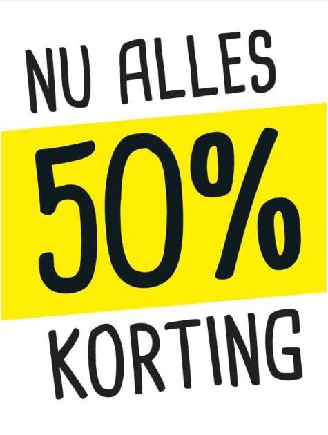 50% korting xenos Groningen Paddepoel