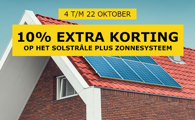 10% extra korting op zonnepanelen bij IKEA