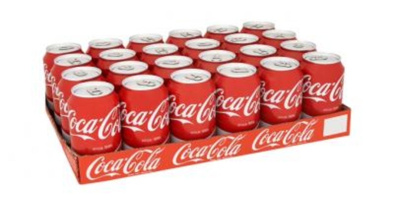 Coca cola 24x330ml voor €8.88 @ amazing oriental