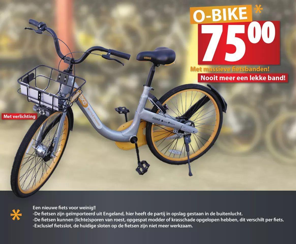 Vrijdag 12-19-26 oktober o-bike fietsen voor €75,- @leeuwarden
