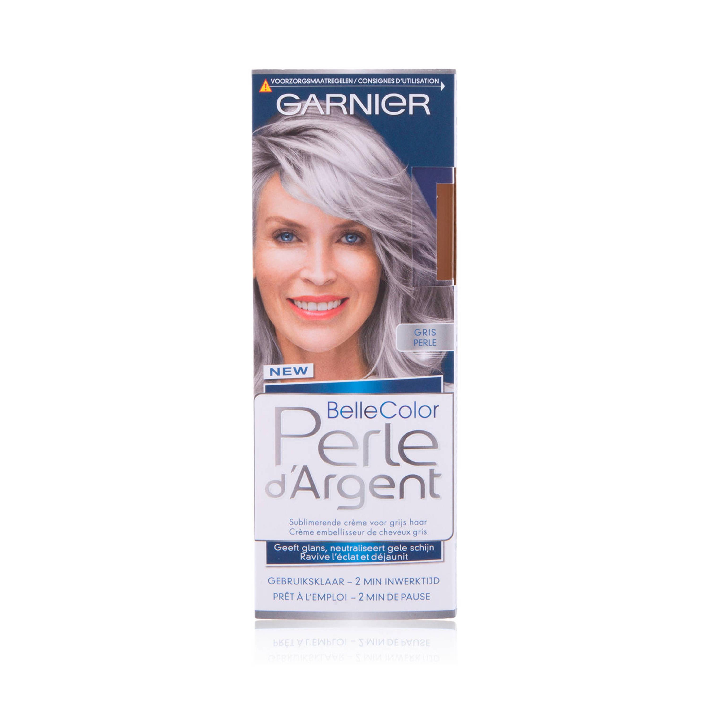 Garnier Nutrisse Perle d'Argent crème haarkleuring zilvergrijs @ Wehkamp