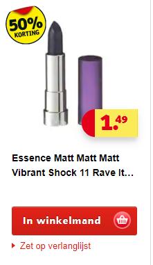 Diverse Catrice en Essence make-up 50% korting