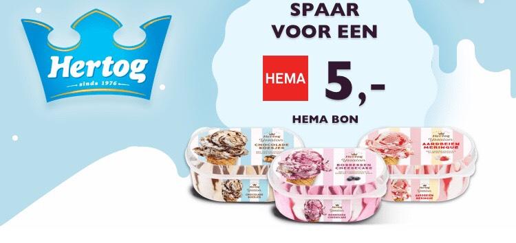 €5 Hema-tegoedbon + 5x Hertog Chocolade Momentje (iOS) @ Tessa