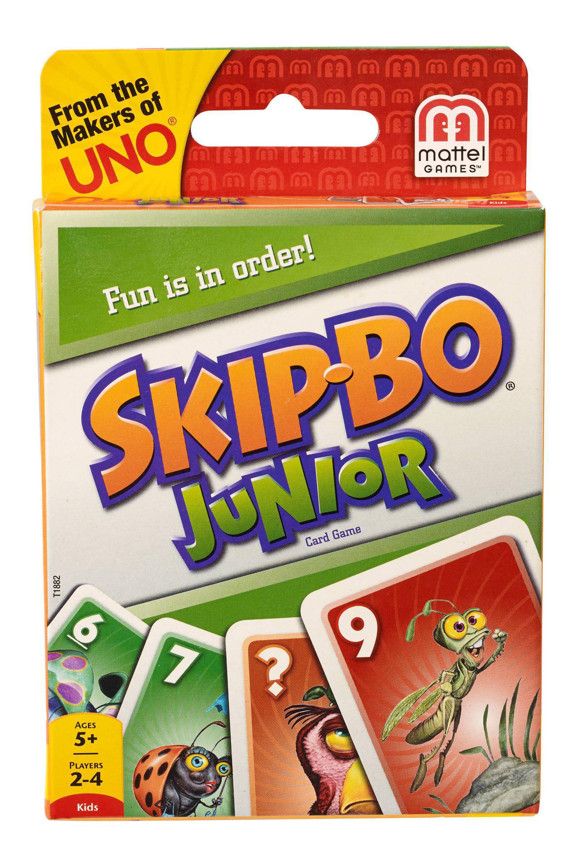 Mattel Skip Bo junior kinderspel voor €3,49 @ Trekpleister