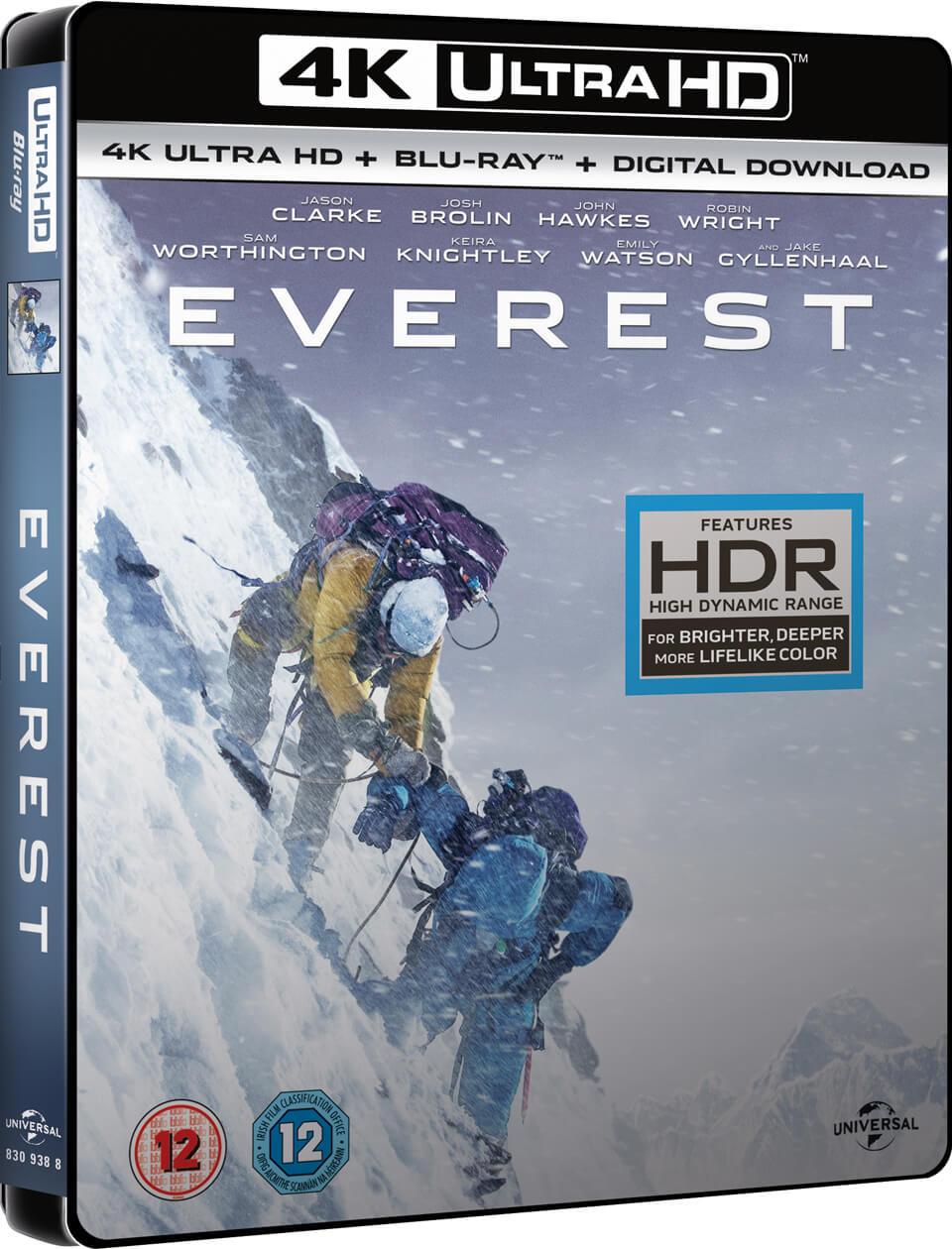 Everest 4K UHD Blu-ray voor €9,98 @ Shop4NL