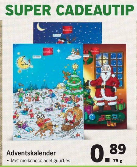 Adventskalender voor maar 89 cent @lidl
