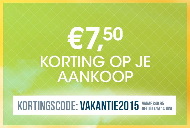 Kortingscode voor €7,50 (min. besteding €49,95) @ Bagageonline