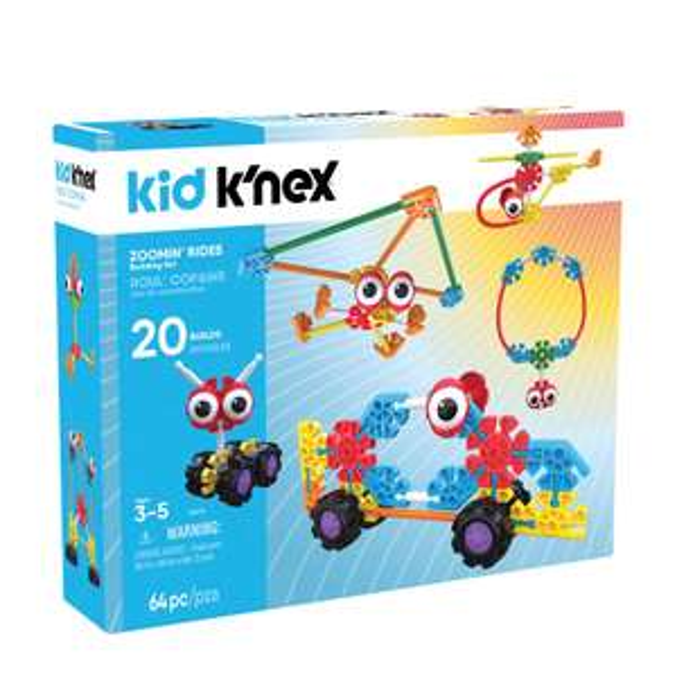 K'nex Kid Zoomin' Rides bouwset voor €14,95 @ Wehkamp
