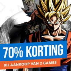70% korting bij aankoop van 2 geselecteerde games @ PSN