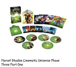 Pre-order Blu-ray Marvel studios collector's edition box set - phase 3 part 1 voor 39,99!