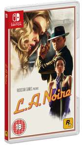 L.A. Noire (Switch) voor €15,51 @ ShopTo