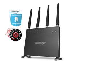 Sitecom Greyhound AC2600 Greyhound Wi-Fi Router voor €99 @ Mycom