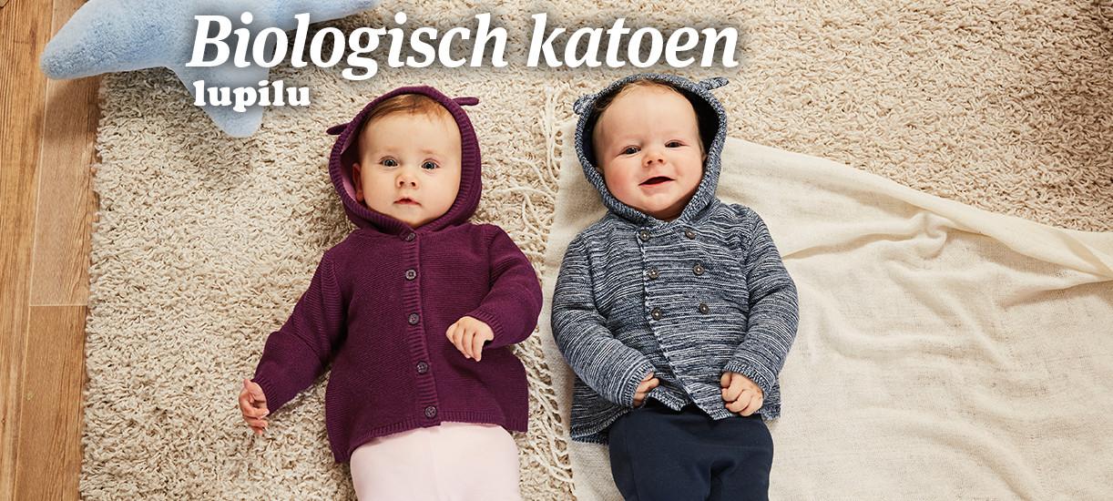 Korting op katoenen babykleertjes @ Lidl-shop.nl