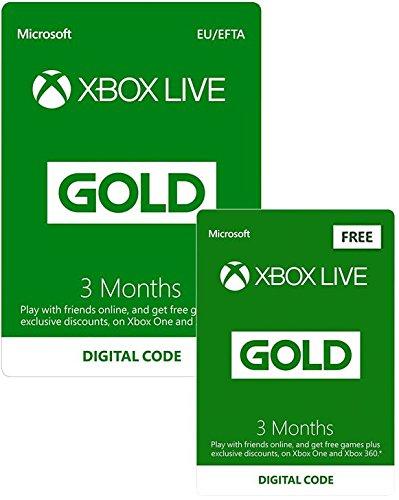 6 maanden Xbox live Gold @Amazon.co.uk