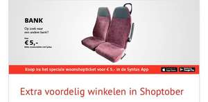 €5,- dagticket Bus Syntus Utrecht, Gelderland, Twents #shoptober @Syntus/Keolis