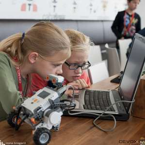 Gratis Devoxx4kids workshops bij Coolblue op 20 okt.