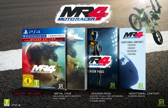Moto Racer 4 Deluxe Edition (PS4) voor €20 @ Bol.com/Media Markt