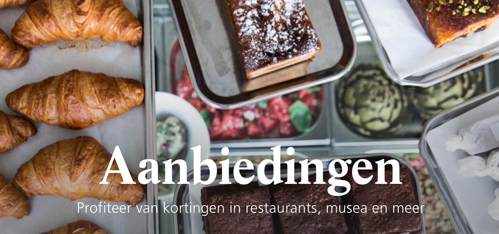 Profiteer van kortingen in restaurants, musea en meer @ NS favourites