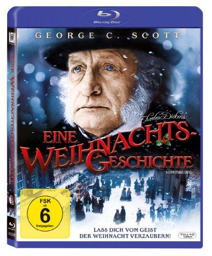 Charles Dickens - A Christmas Carol [Blu-ray] @Amazon.de