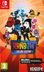 Runbow Deluxe Edition (Switch) voor €22,48 @ Zavvi