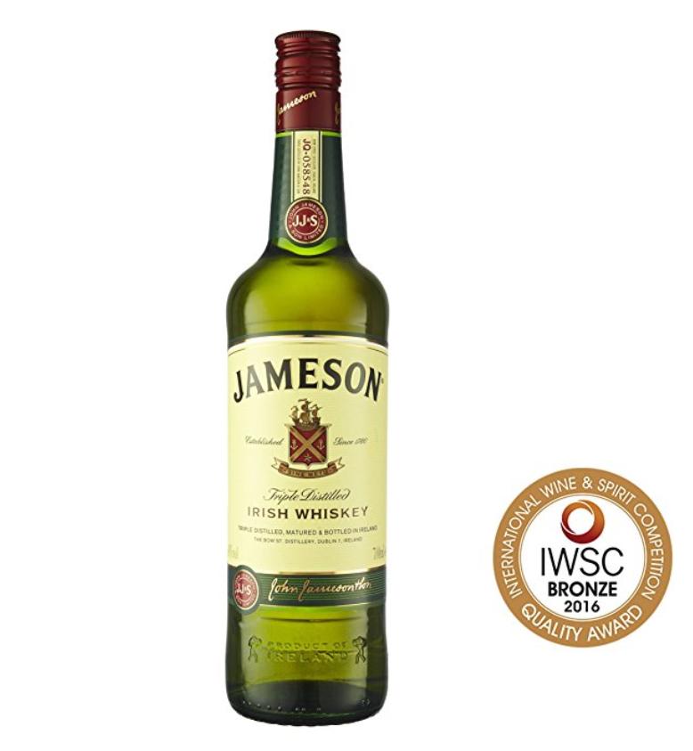 Jameson Irish Whiskey 2 flessen (2 x 0.7 l)