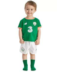 New Balance Republic of Ireland 2017/18 Home Kit Baby's -73% @ JD Sports