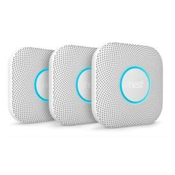 Nest Protect V2 Rook- en koolmonoxide melder - batterij versie 3-pack @Gamma