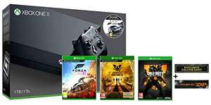 Xbox One X + Forza Motorsport 7 + Forza Horizon 4 + Call of Duty Black Ops 4 + State of Decay 2 Ultimate Edition @ (Amazon.co.uk)