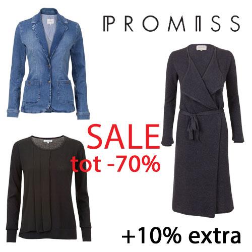 Sale tot -70+% + met code 10% extra @ Promiss