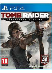 Tomb Raider - Definitive Edition (PS4) voor € 32,32 @ Base.com