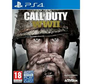 Call of Duty WWII PS4 of Xbox One €18,99 @ Zavvi