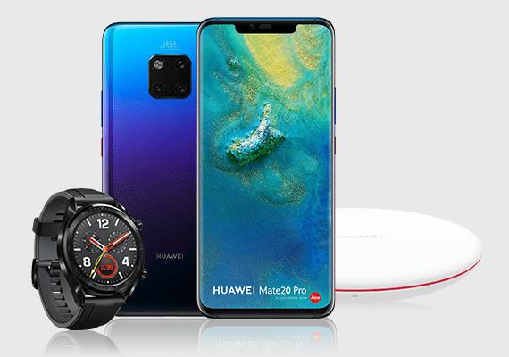 HuaweiWatch GTen Wireless Charger gratis bij aanschaf Mate 20 Pro