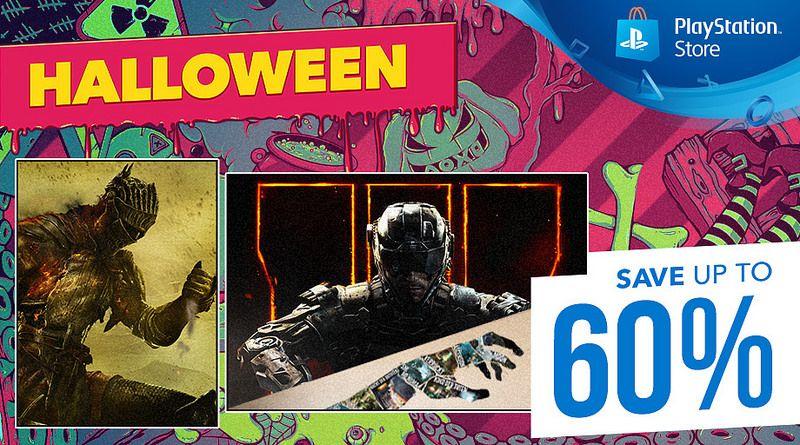 PSN Halloween Sale