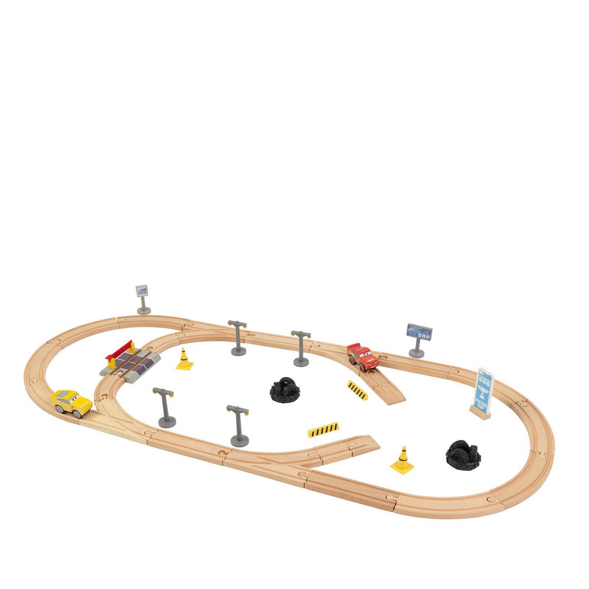 Kidkraft Disney Cars 3 57-delige houten treinset voor €24,95 @ Wehkamp