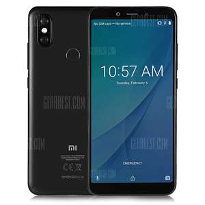 Xiaomi Mi A2 4G Phablet Global Version - BLACK GearBest.com