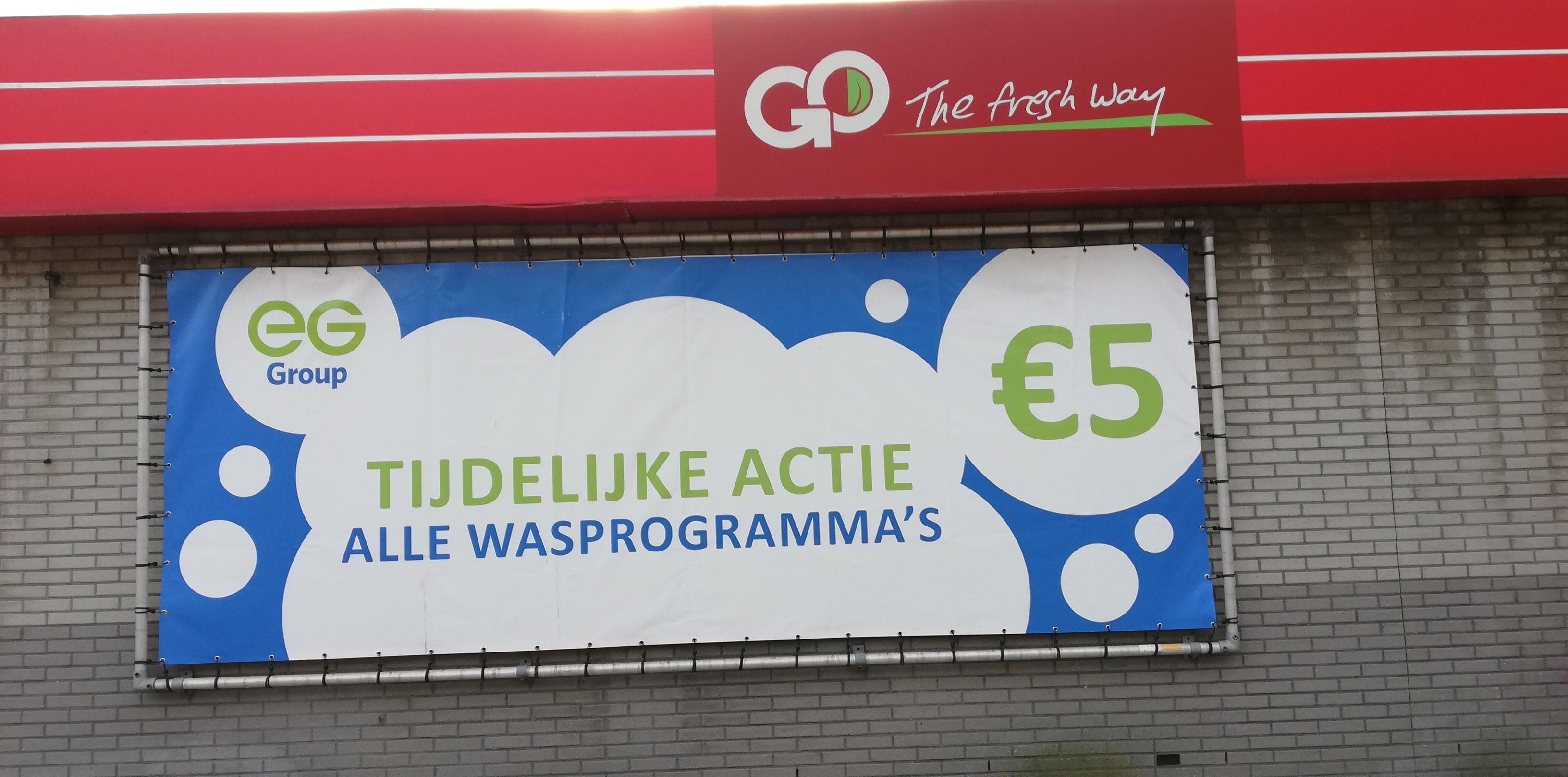 Alle Carwash-programma's voor €5 @ Texaco Verhulstplein Den Haag