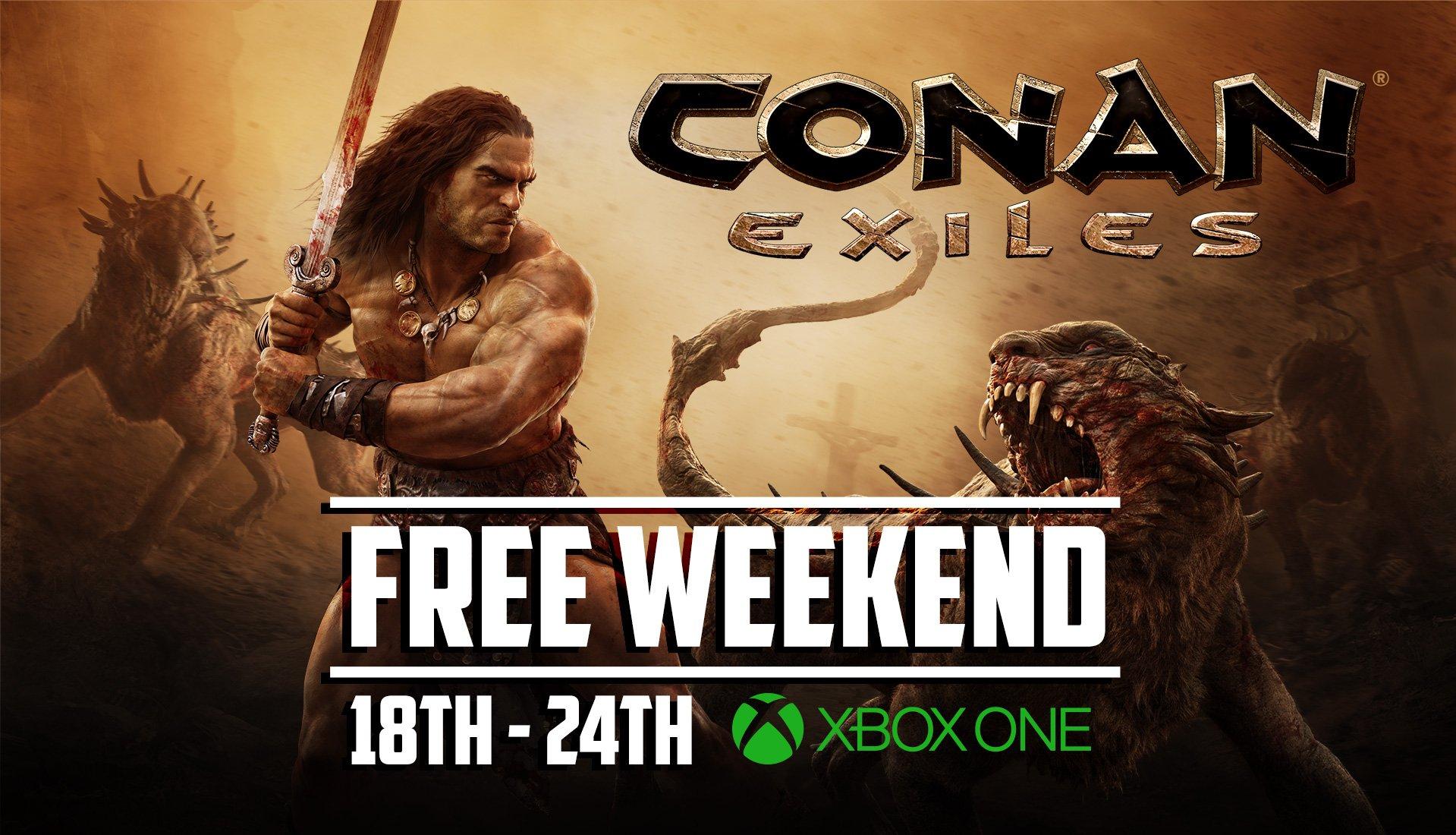 Conan Exiles gratis speelbaar van 18 t/m 24 oktober @ Xbox One