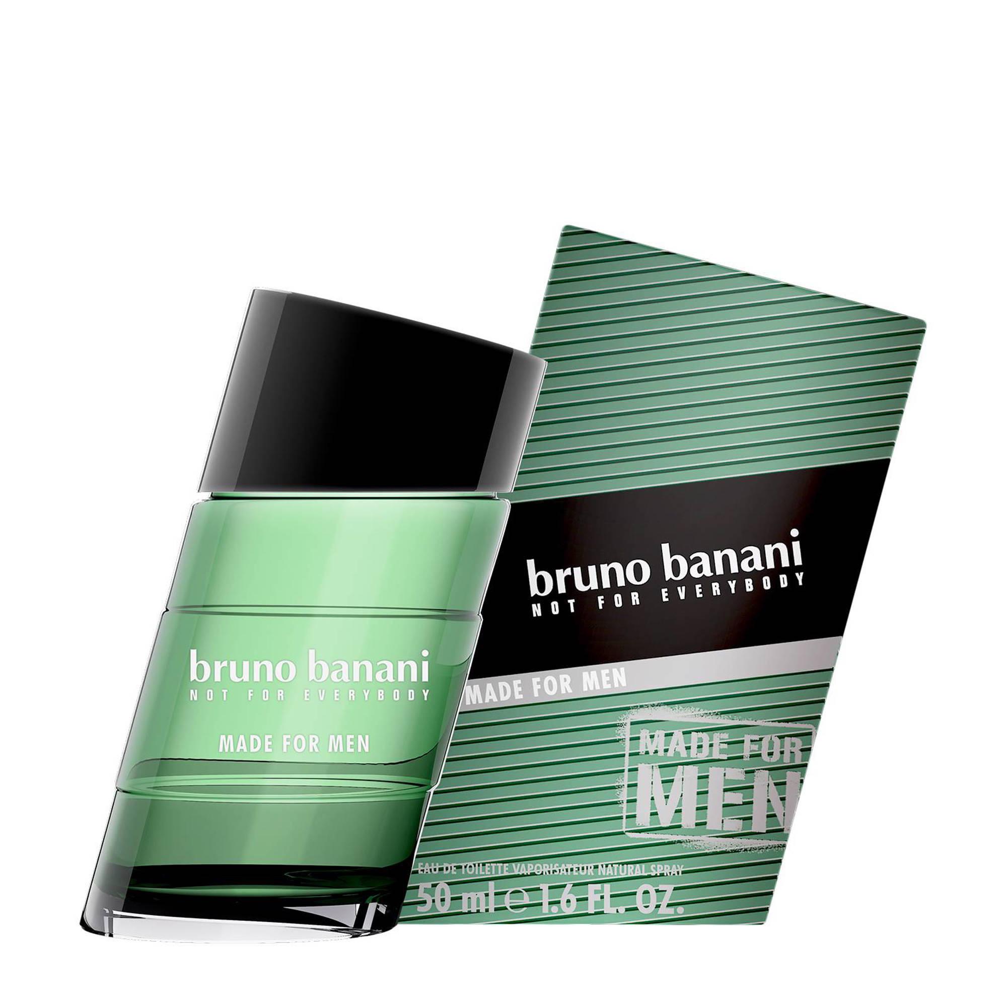 Bruno Banani Made for Men eau de toilette - 50 ml voor €7,99 @ Wehkamp