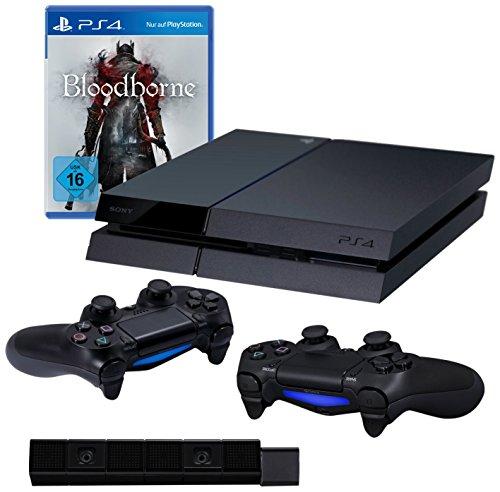 Playstation 4 + 2 Controllers + Bloodborne + PS4-Camera voor €405,70 @ Amazon.de