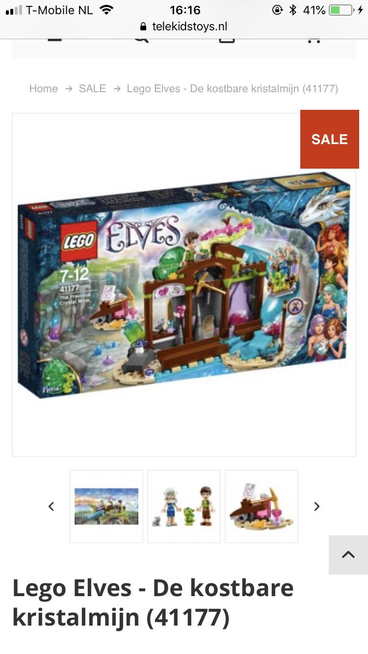 Lego Elves - De kostbare kristalmijn (41177)
