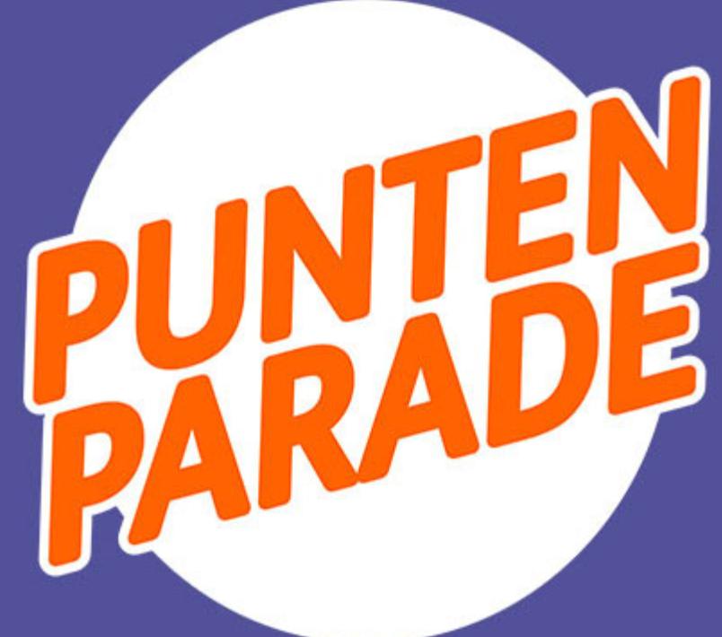Punten Parade van 15 t/m 28 oktober @ ING Winkel
