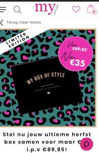 Box of style by my jewellery
