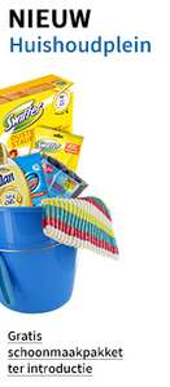 Gratis schoonmaakpakket t.w.v. €12,50 bij min. besteding van €25 @ Huishoudplein