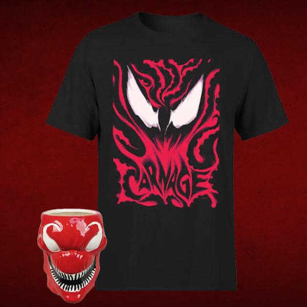 Venom shirt + mok voor €12,48 @ Zavvi