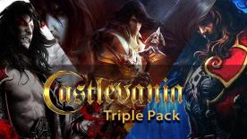Castlevania Triple Pack voor €2,99 @ Green Man Gaming