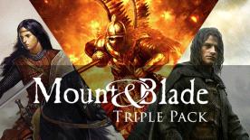 Mount & Blade Triple Pack voor €3,49 @ Green Man Gaming